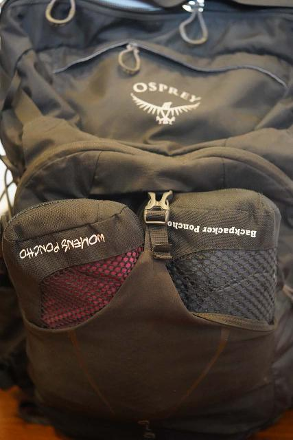 The Osprey Manta 34 Backpack also has an open-air ventilated front pouch, which is handy, especially if I'm trying to air dry wet gear while on the move