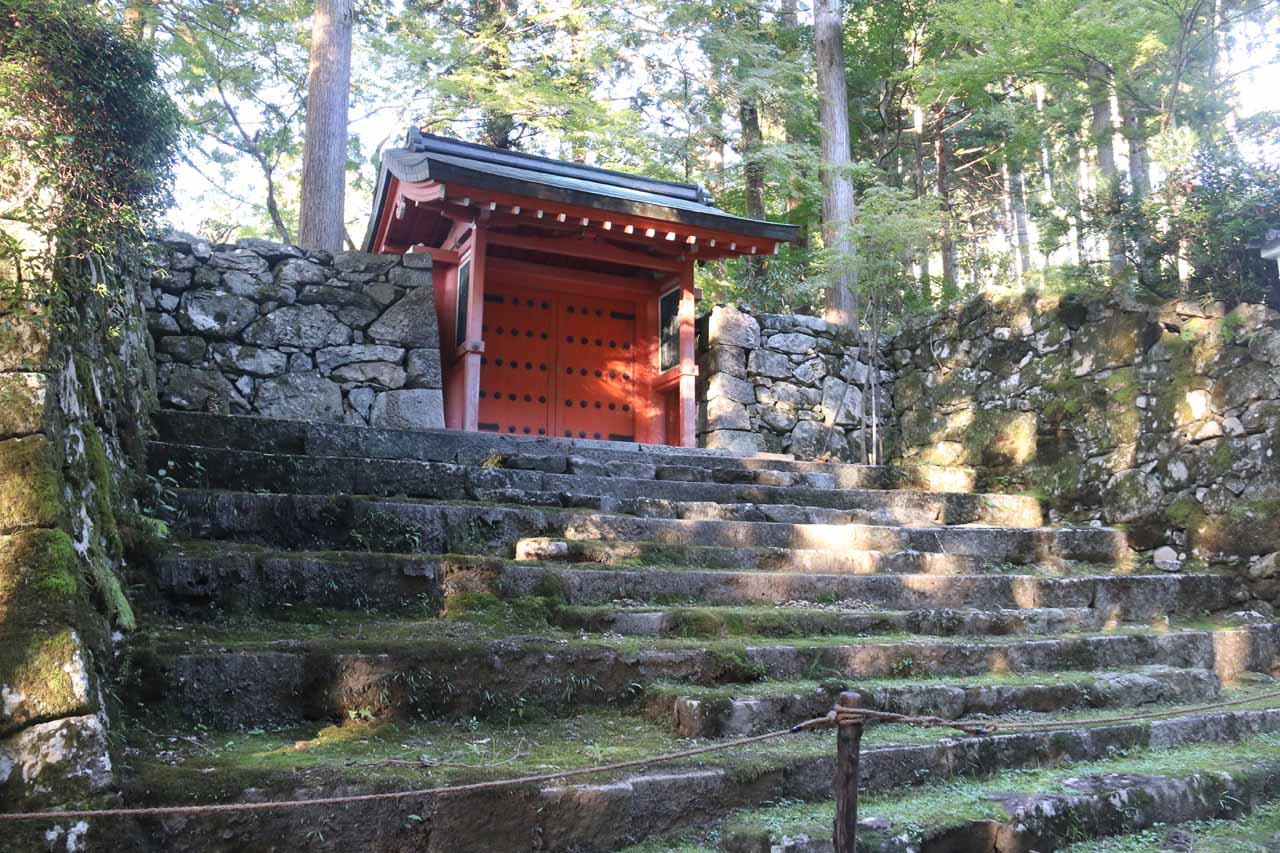 As we walked the road, we noticed attractive walls and gates like this that were on the perimeter of the Sanzen-in Temple complex