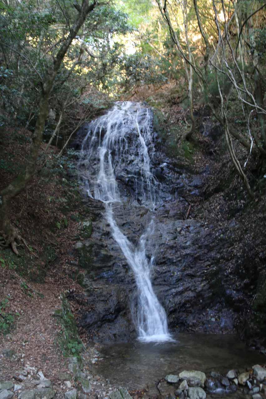 A closer look at the Otonashi Waterfall