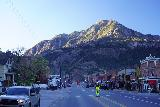 Ouray_045_10162020 - Looking south along the main drag through Ouray from the front of the familiar donut shop in town