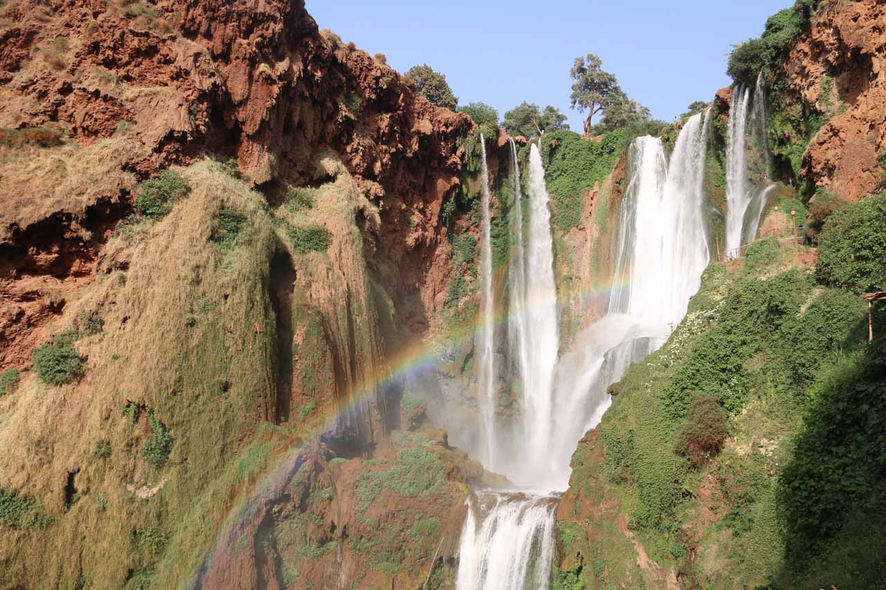 A Morocco Waterfall