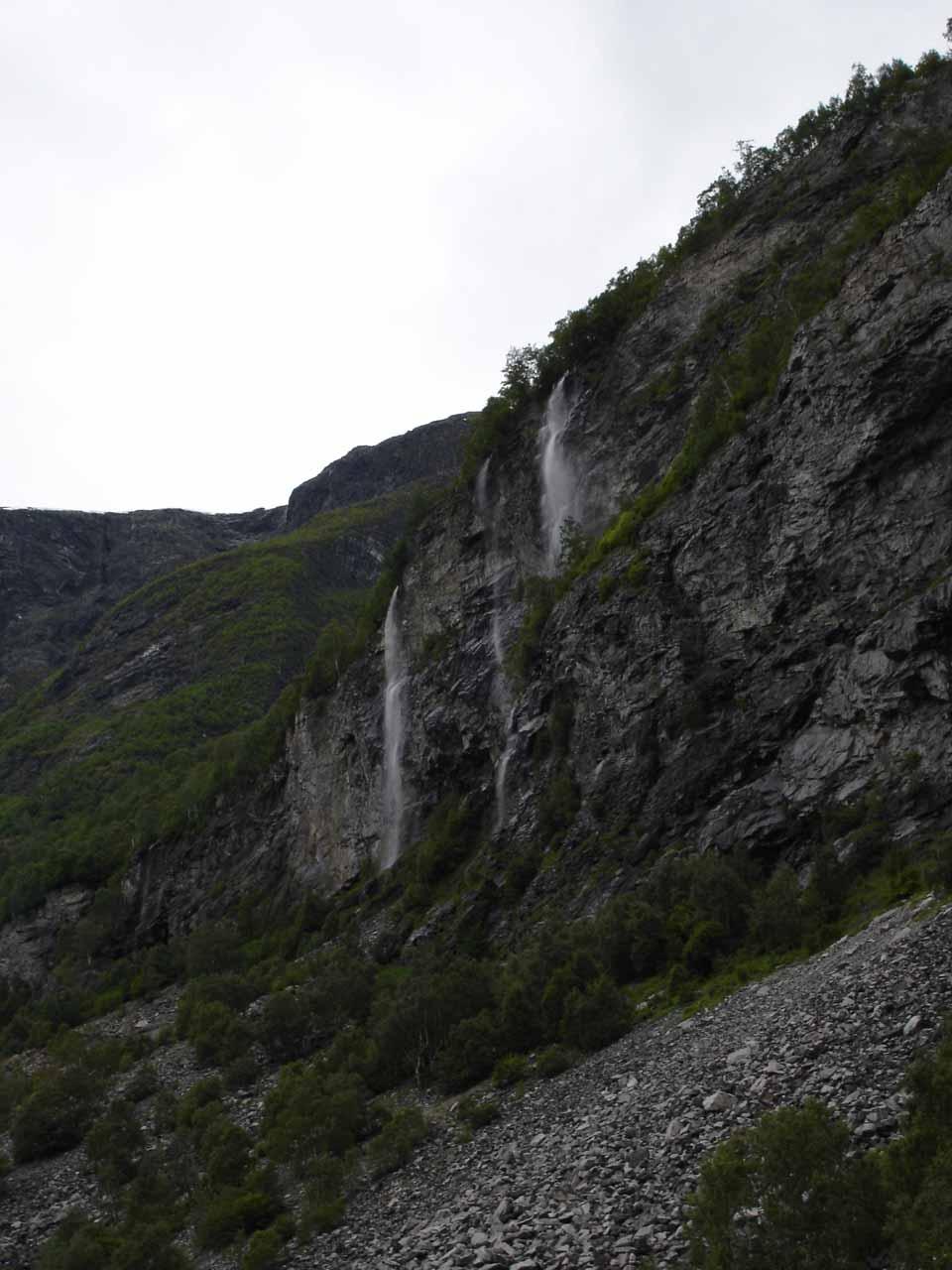 Still more random waterfalls seen on the drive between Øvre Årdal and Utladalen