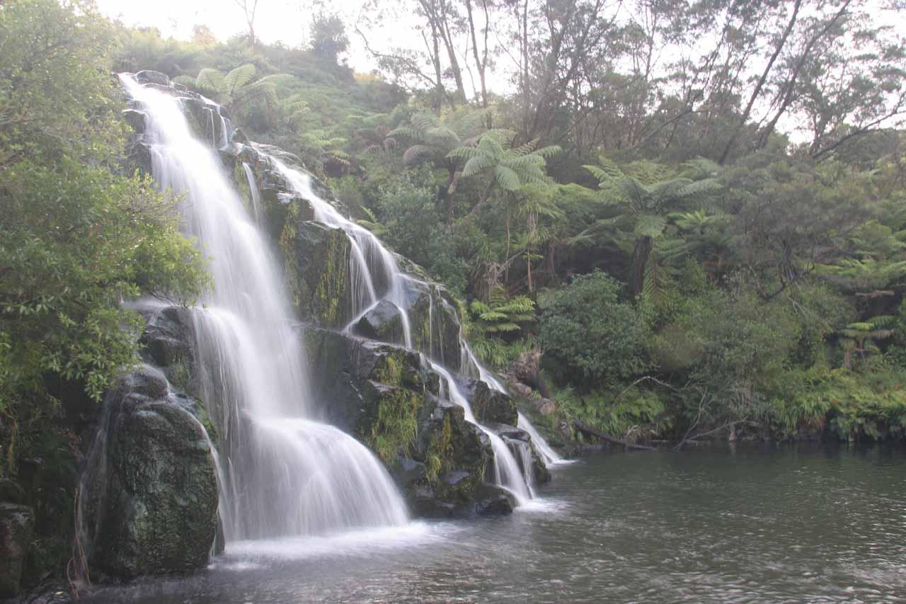 Profile look at Owharoa Falls