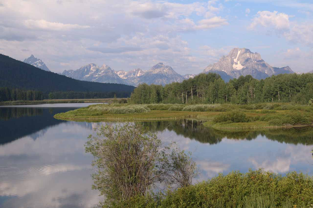 Even though Terraced Falls was within the Yellowstone National Park boundary, it felt like its access trail and road was closer to the Grand Teton than it was to some of the park's main attractions