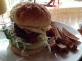 Oyster_Island_002_jx_11252014 - A burger with decent meat but stale burger bun
