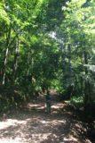 Palaruvi_Falls_003_11192009 - Julie on the lush trail leading closer to Palaruvi Falls