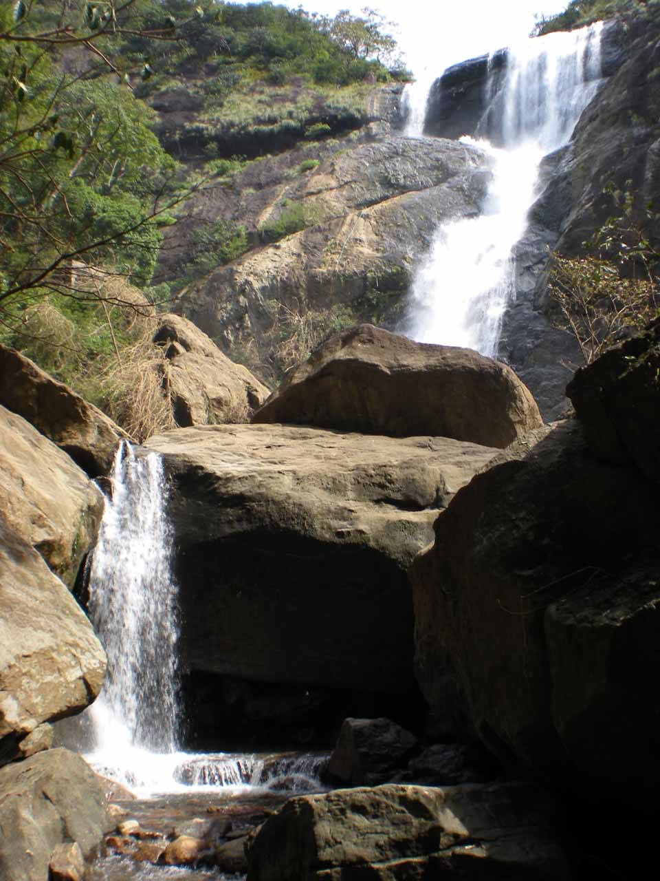 This was what Palaruvi Falls looked like from the ladies only side