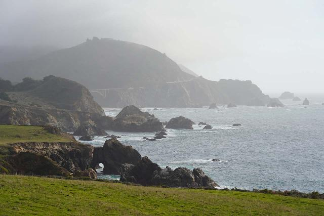 Palo_Colorado_008_02072021 - The familiar sea arch near Palo Colorado on the Big Sur Coast