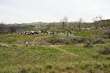 Palouse_Falls_043_04042021 - Looking back towards the busy parking lot for Palouse Falls State Park from the unfenced canyon rim area during our early April 2021 visit