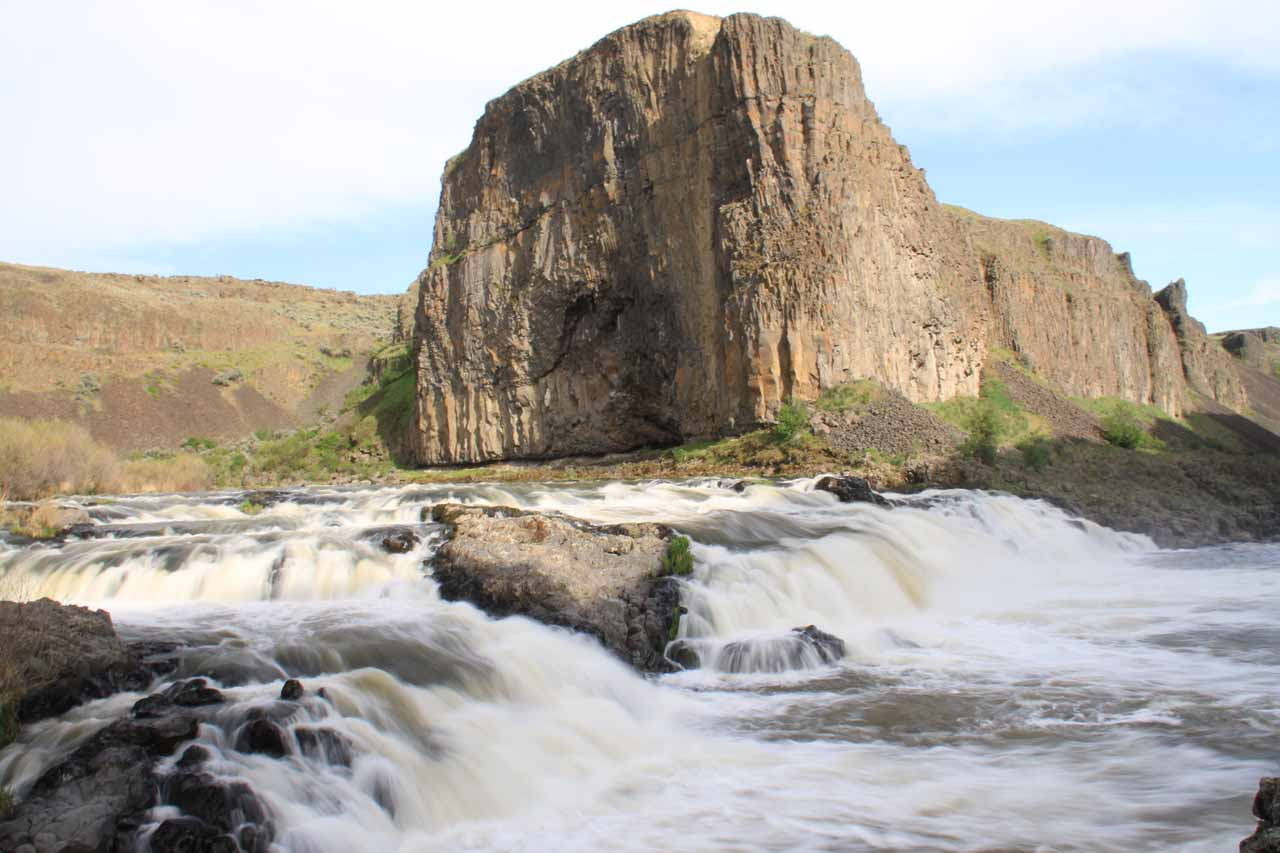 Long exposure and more frontal view of the Upper Palouse Falls