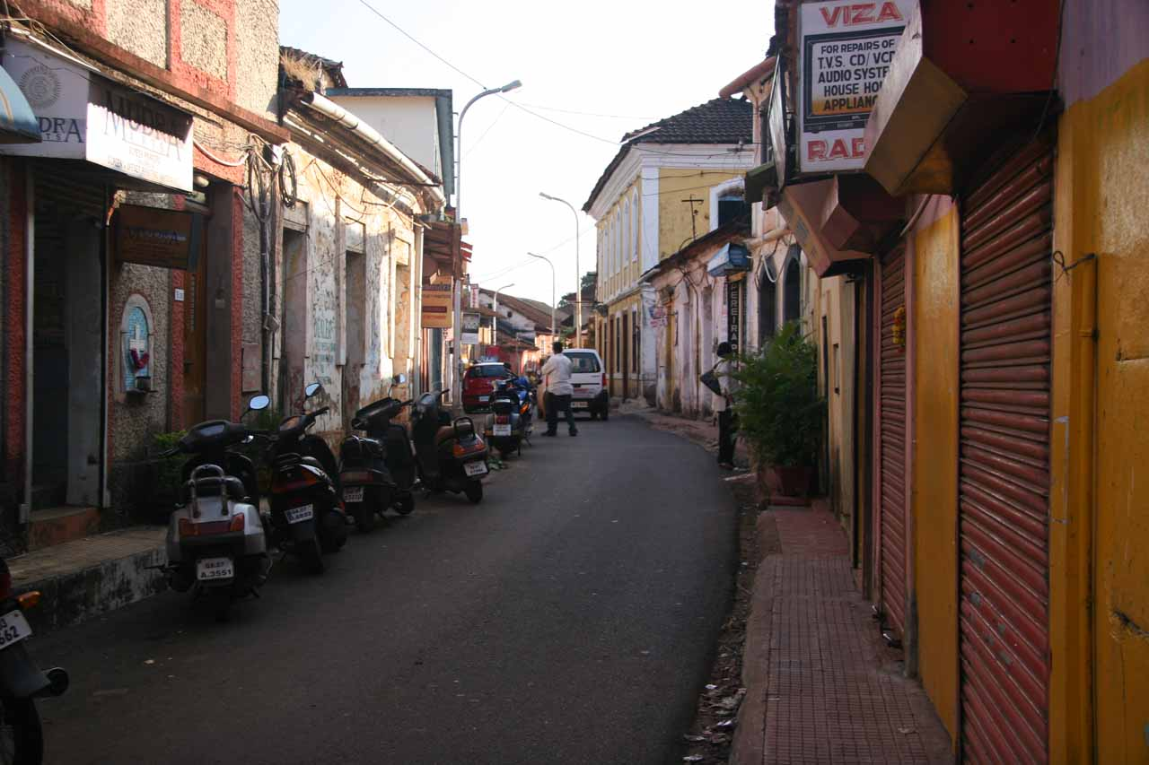 Attractive alleyway in Panaji