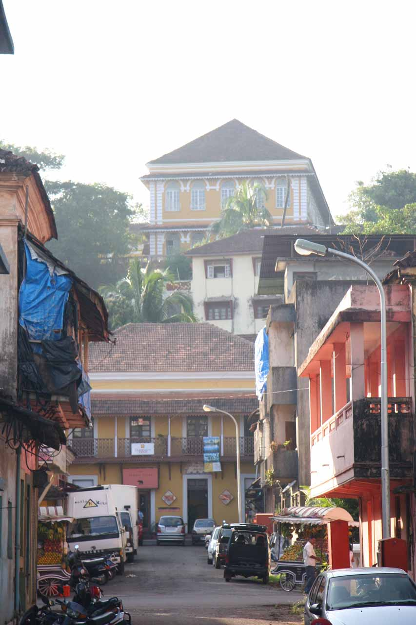 Late afternoon in Panjim