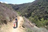 Paradise_Falls_14_045_03302014 - Julie and Tahia on the narrow trail leading down to Paradise Falls