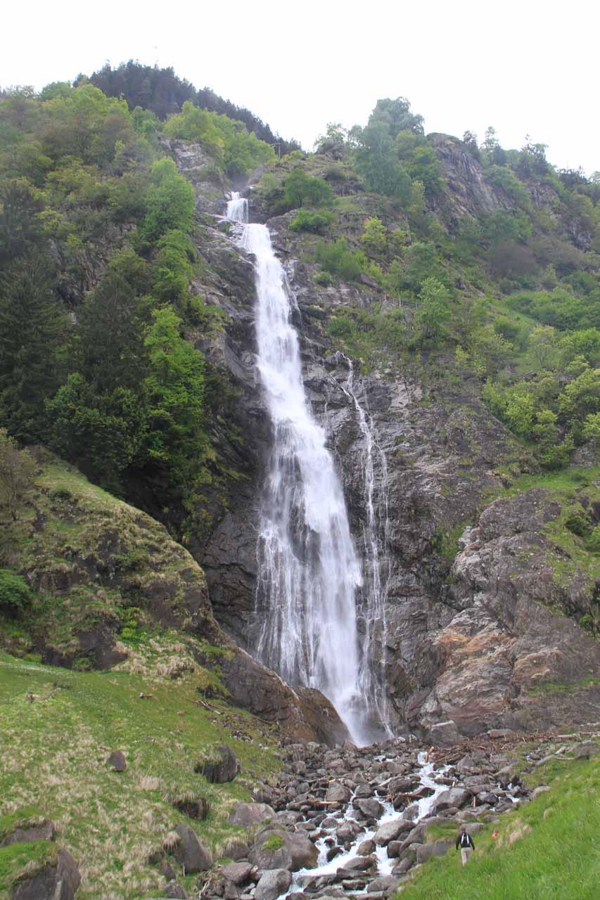 Cascata di Parcines (Wasserfall Partschinser in German)