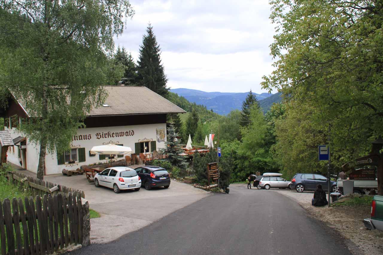 The Gasthaus Birkenwald