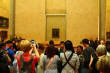 Paris_18_213_06142018 - Finally arriving at the crowd gathered around the Mona Lisa painting
