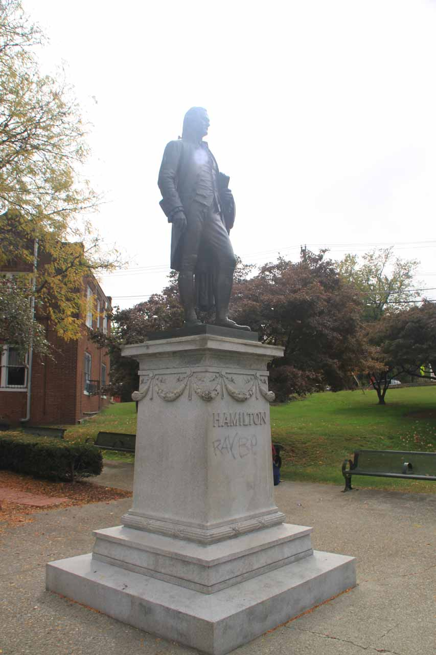 The Alexander Hamilton Statue