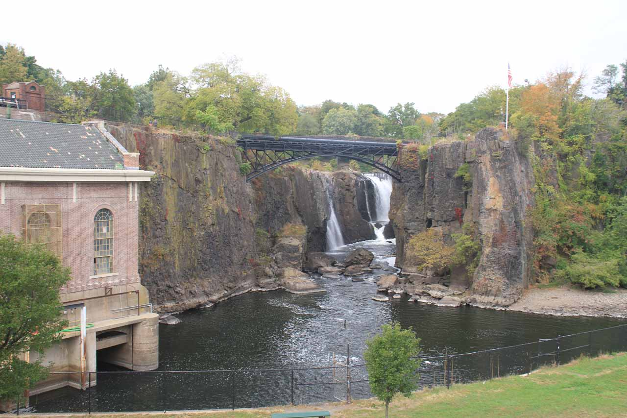 Contextual view of Passaic Falls from the main overlook