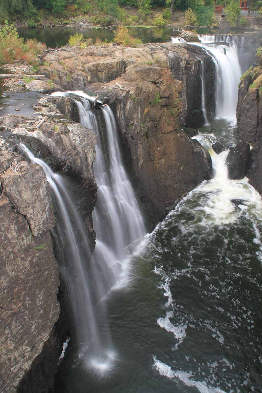 Closer look at the Great Falls of Paterson
