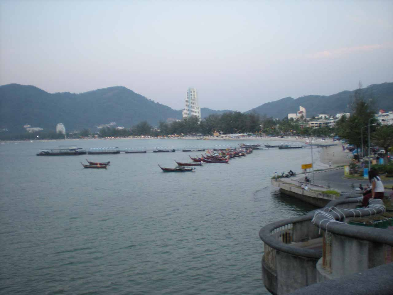 Approaching Patong Beach Town