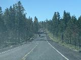 Paulina_Falls_003_iPhone_06272021 - Looking ahead at the road leading to Paulina Falls