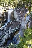 Paulina_Falls_102_06272021 - Semi-long-exposed shot of Paulina Falls from the main lookout