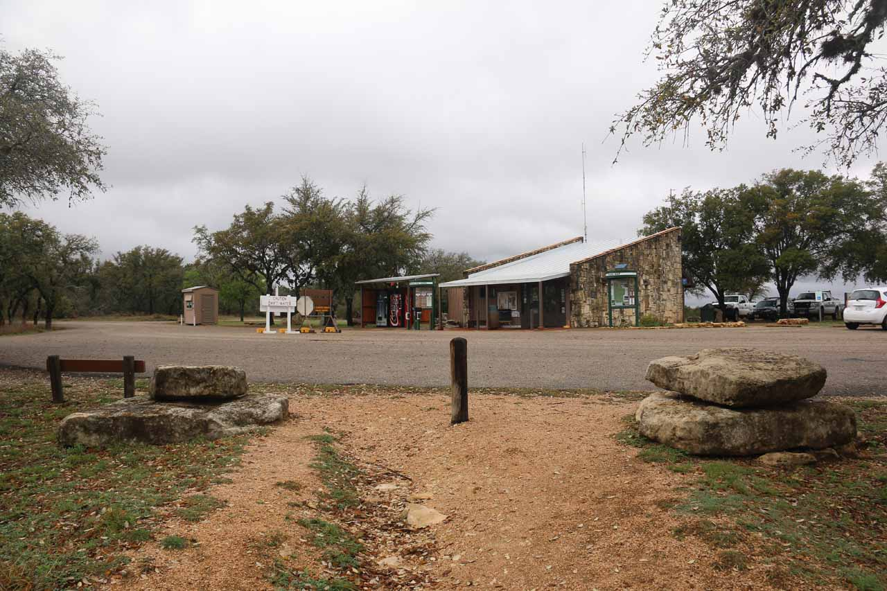 The Pedernales Falls State Park Headquarters