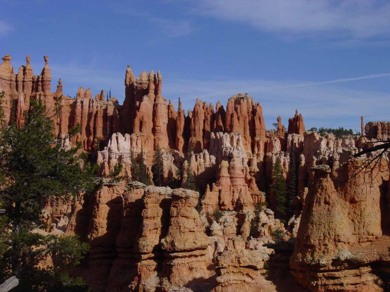 Intriguing hoodoo formations on the Peek-a-Boo Trail