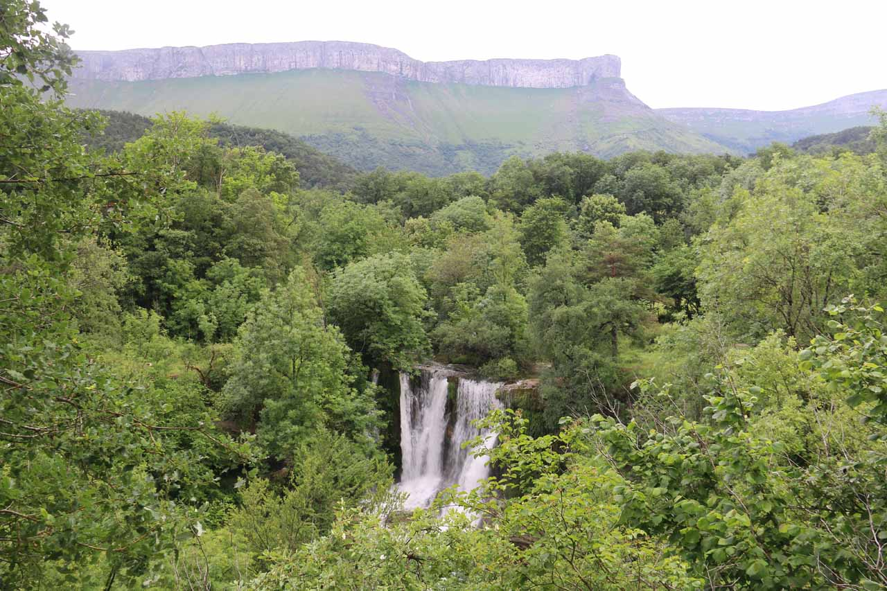 Another look at the Cascada de Penaladros