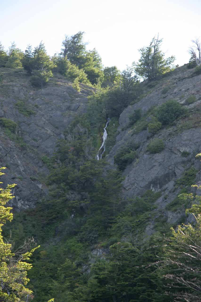 The Cascade by Los Notros Hostería
