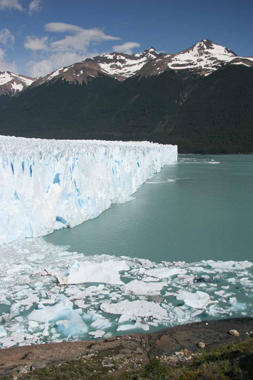 Profile of the Perito Moreno Glacier