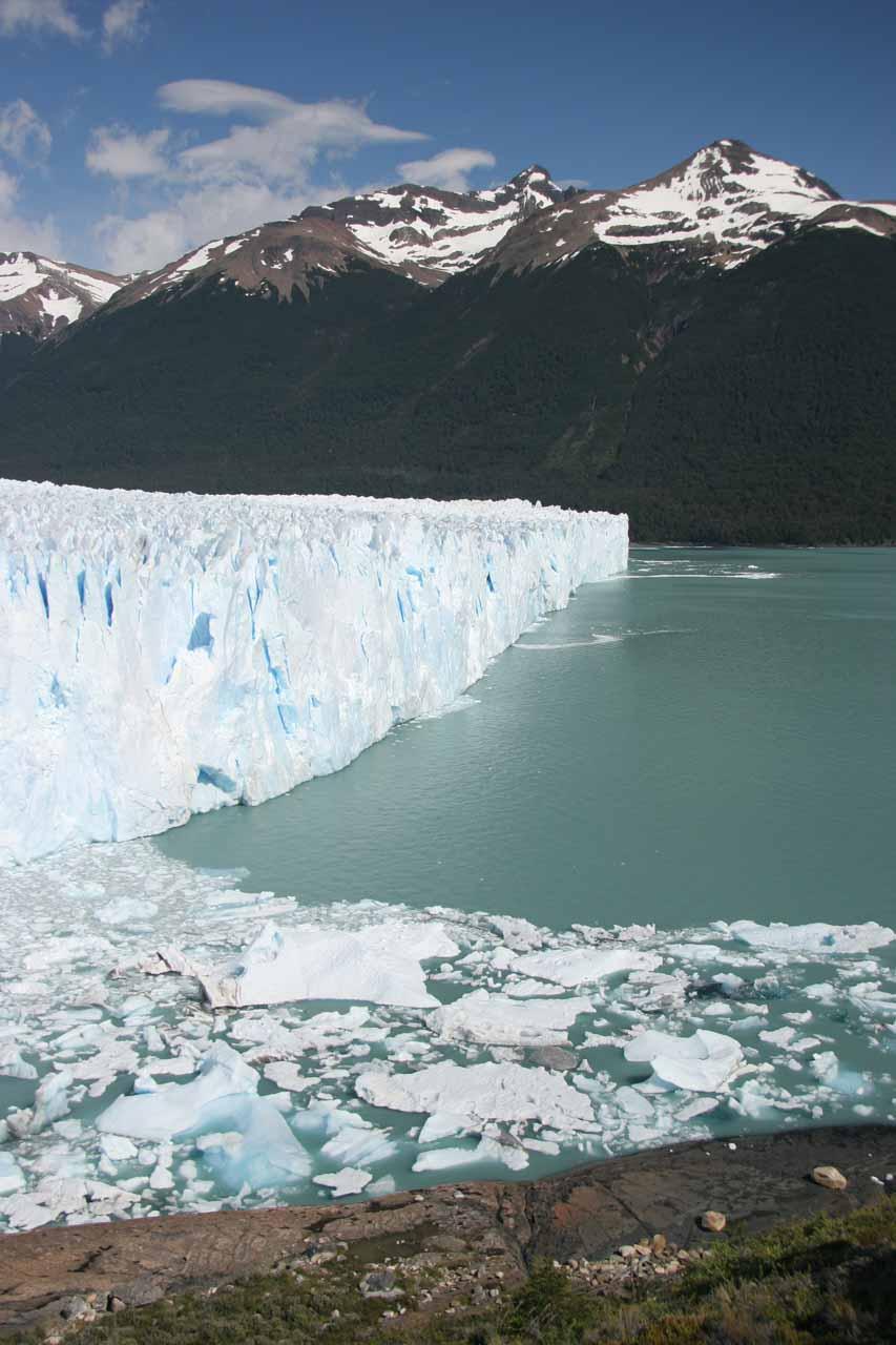 The edge of Perito Moreno Glacier