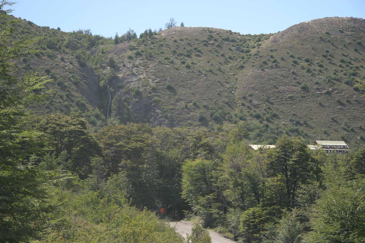 Context of Los Notros Cascade with Los Notros Hotel