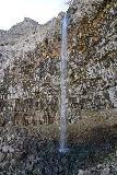 Perrine_Coulee_Falls_Base_016_04032021 - Semi-long-exposed shot of the Perrine Coulee Falls from the opposite side of its drop