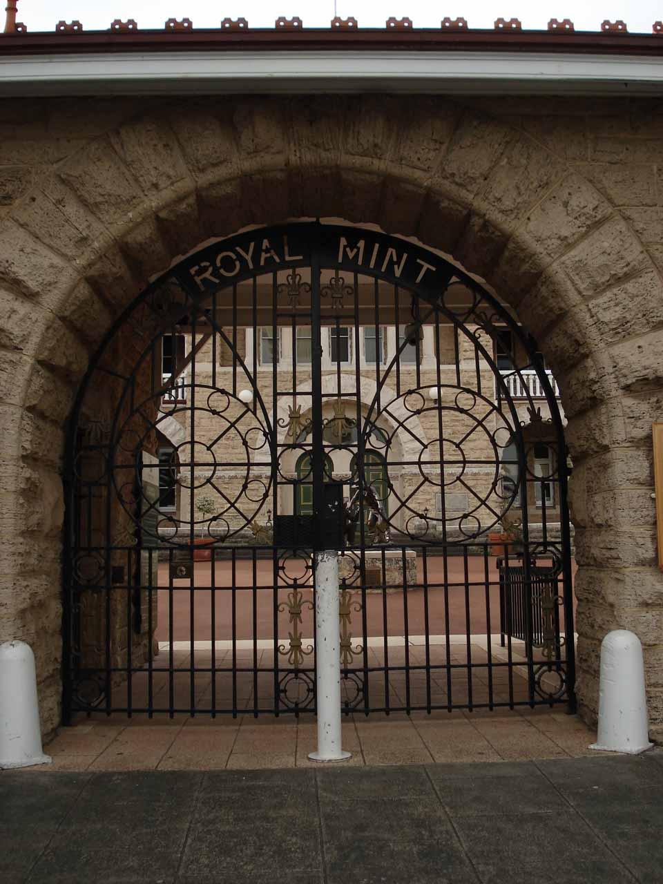The Royal Mint in CBD Perth