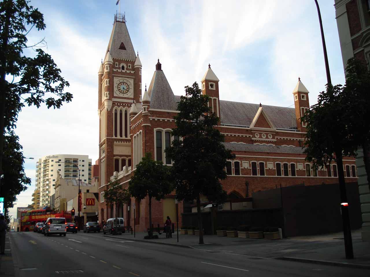 More attractive buildings in the Perth CBD
