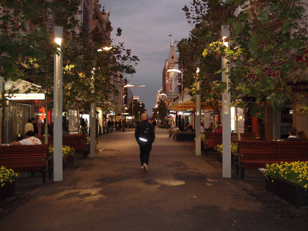 Walking about in the Perth CBD