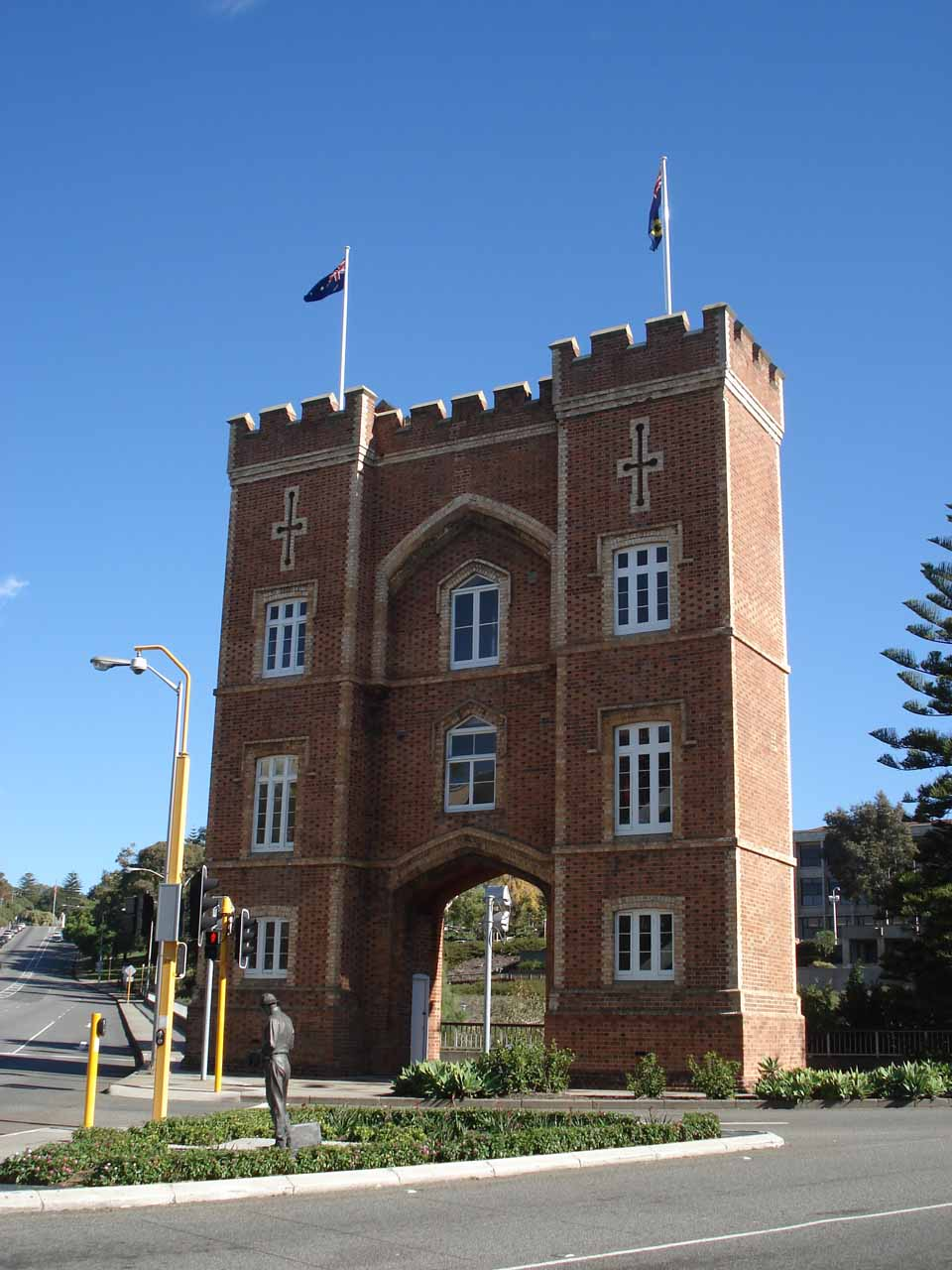 Another historical-looking building in Perth