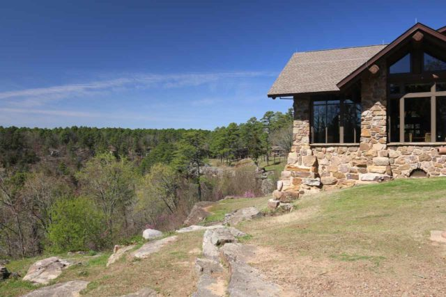 Petit_Jean_SP_111_03162016 - Mather Lodge sat atop Petit Jean Mountain