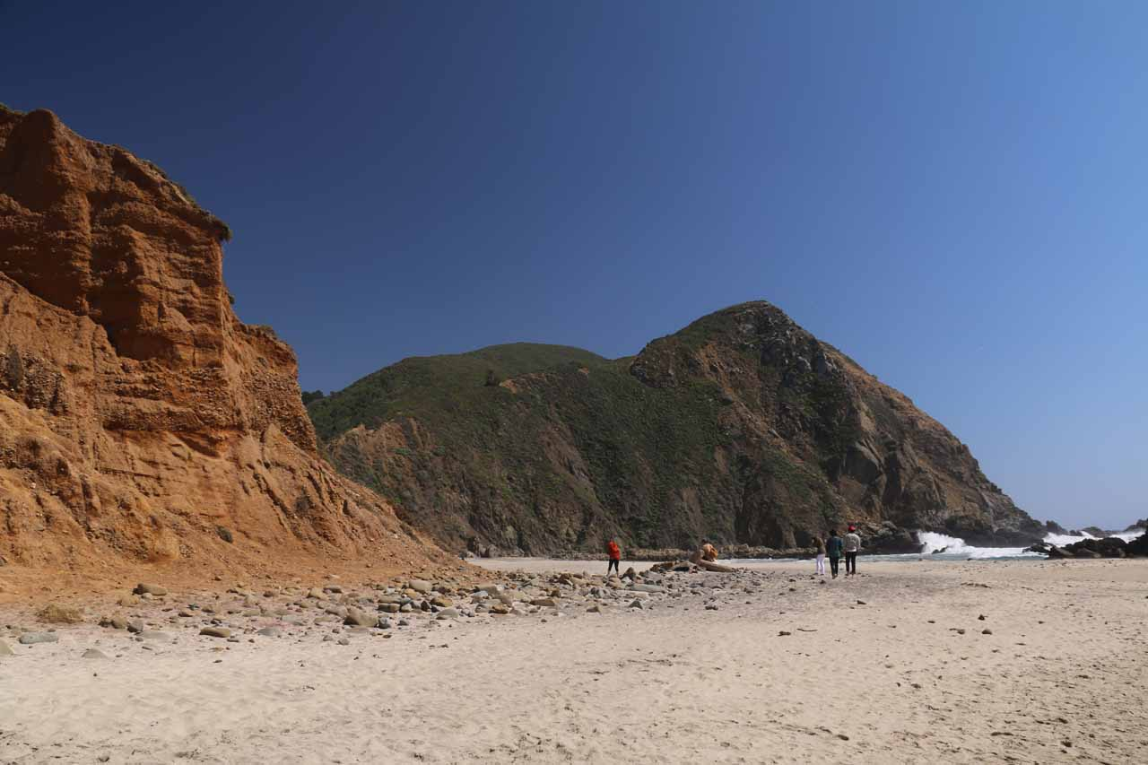 Basking in the unspoiled beauty of Pfeiffer Beach