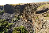Phantom_Falls_216_04092021 - Looking across the profile of Phantom Falls with a trio of sheared basalt cliffs in the background