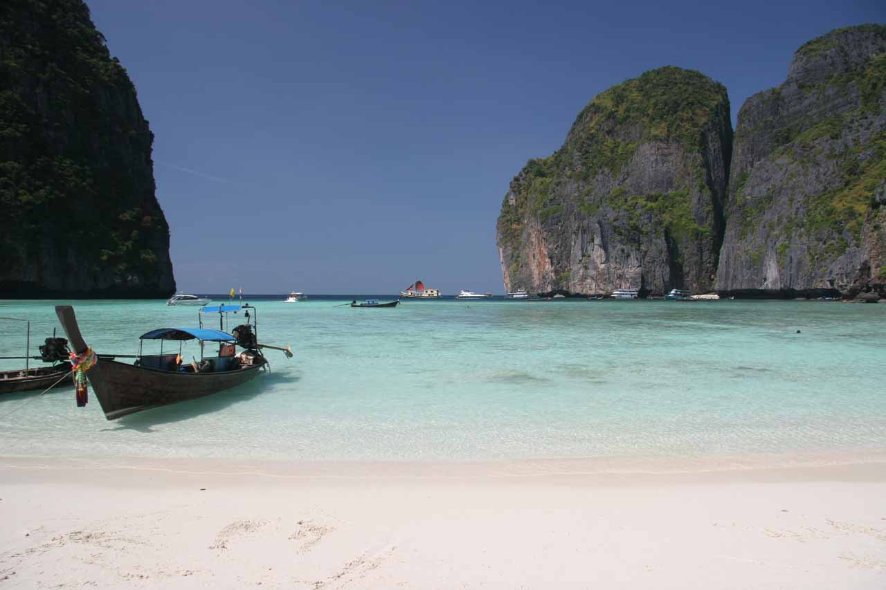 Maya Beach on Phi Phi Island