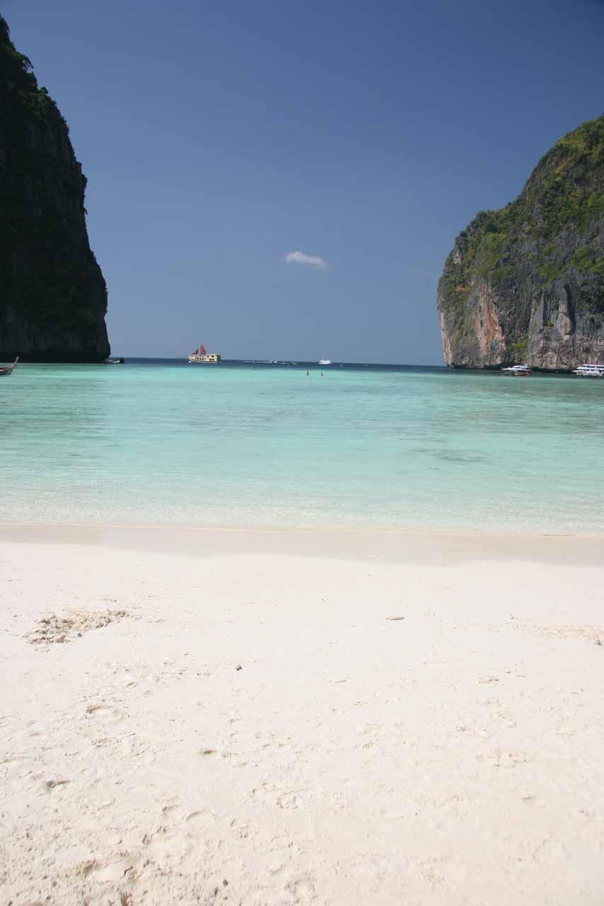 Another look at Maya Beach