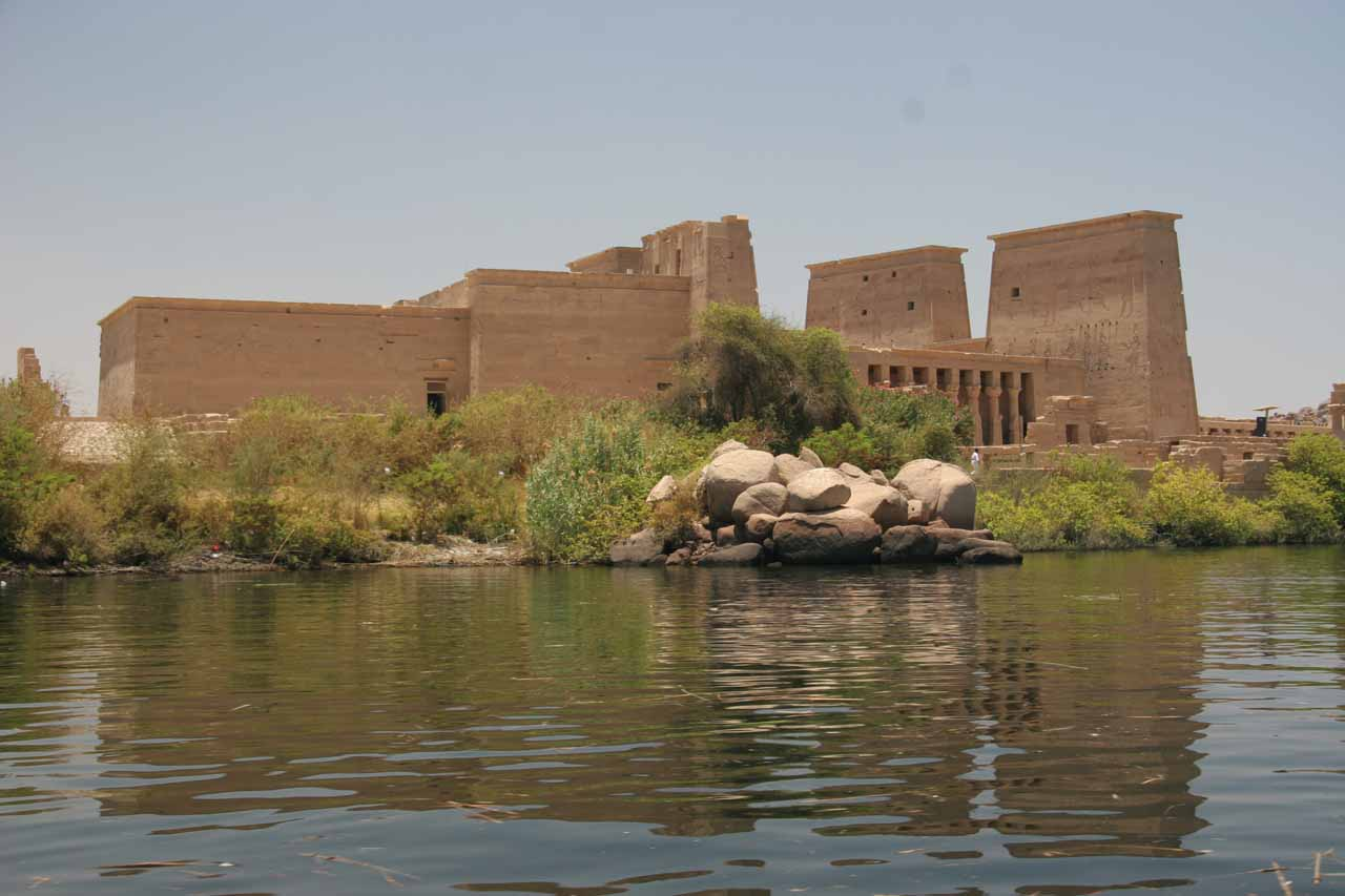 Boating to Temple of Philae