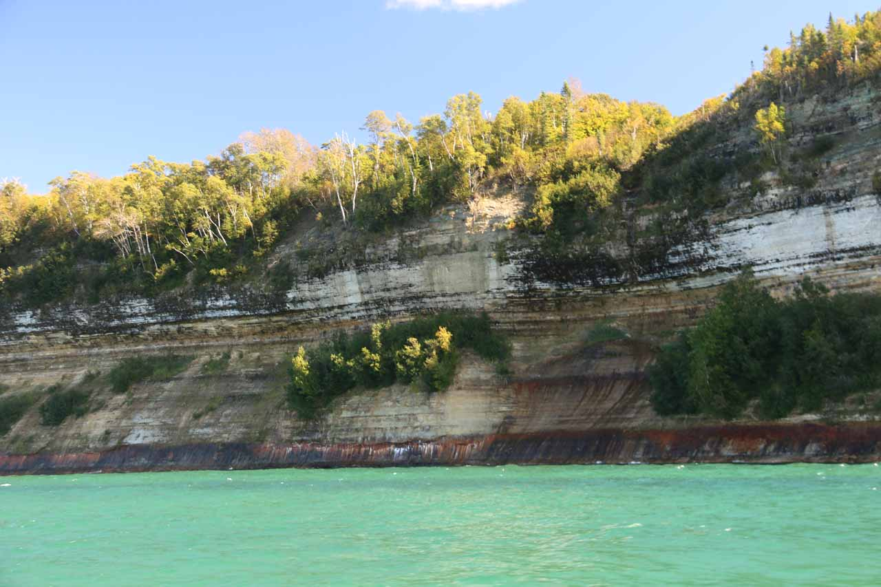 Starting to see the signature Pictured Rocks