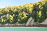 Pictured_Rocks_cruise_076_09302015 - I noticed some streaks on the Pictured Rocks, which made me wonder if these would become waterfalls under wetter conditions