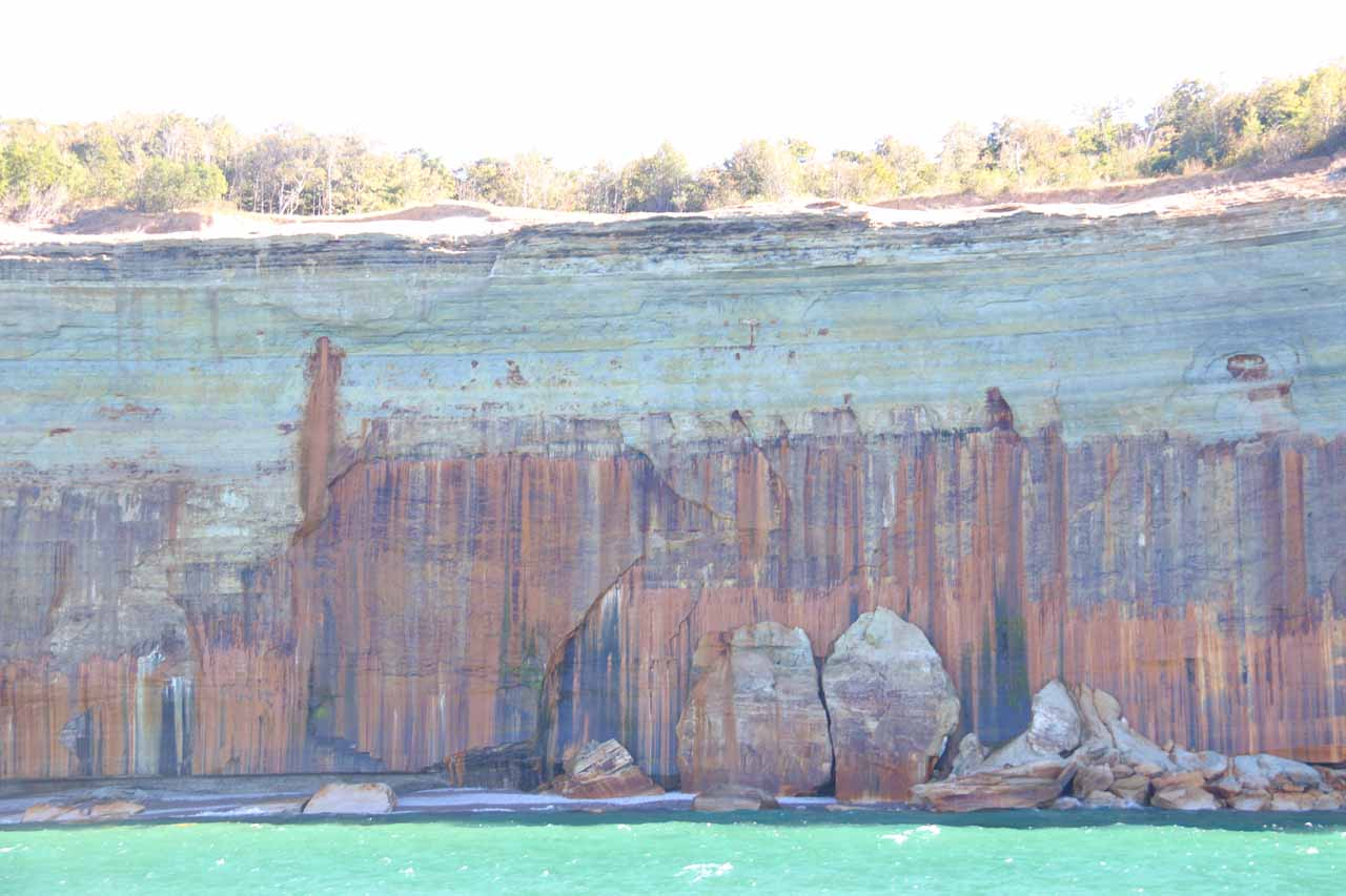 Back at the Anasazi-like Pictured Rocks