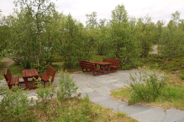 Pikefossen_074_07052019 - Picnic tables near the overlooks for Pikefossen (though I don't the mosquitos here would allow for a relaxing experience)