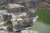 Pillar_Falls_Overlook_040_04032021 - Looking towards the Pillar Falls and pillars from the Snake River Canyon north rim
