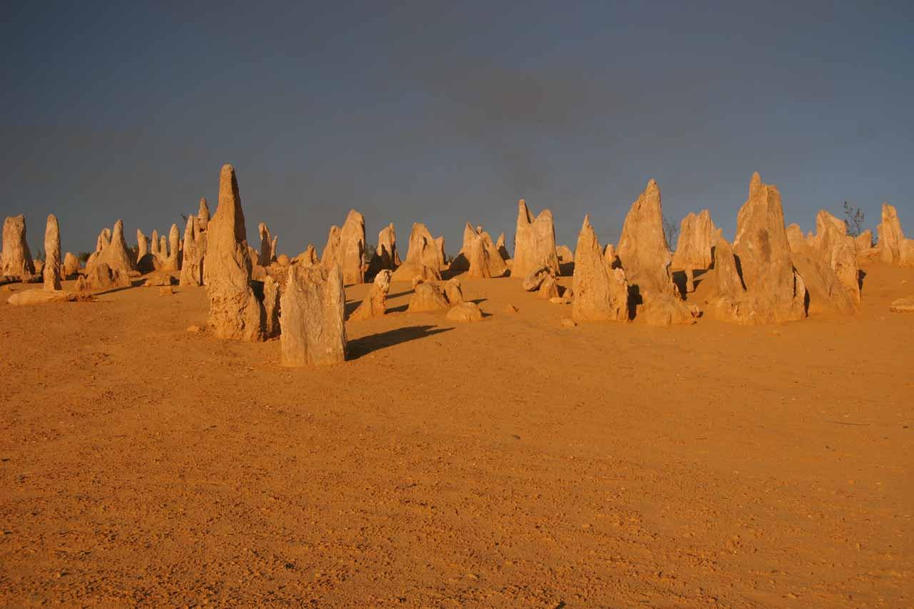 The impressive Pinnacles